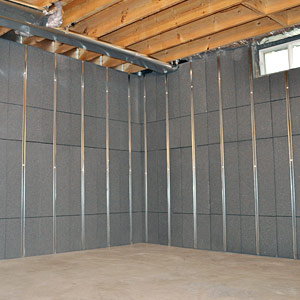 Basement to Beautiful Insulated Wall Panels